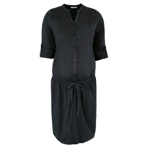 Vestido Camisa Premamá Negro