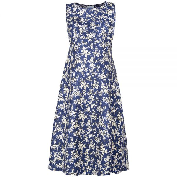 Vestido Premamá Estampado Vintage