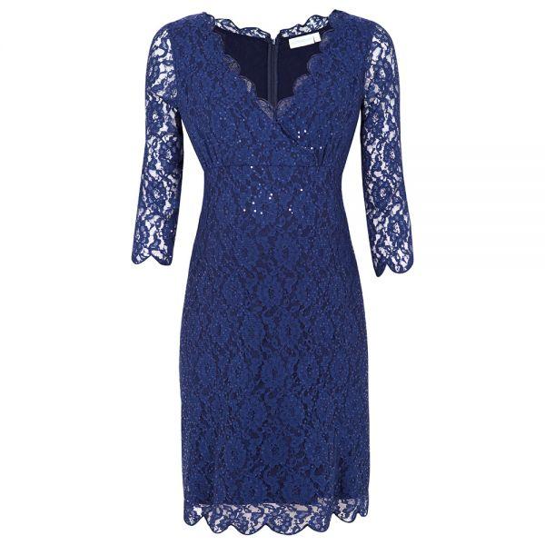 Vestido de Fiesta Premamá Azul
