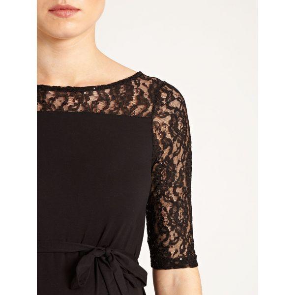 Vestido Premamá Negro de Fiesta