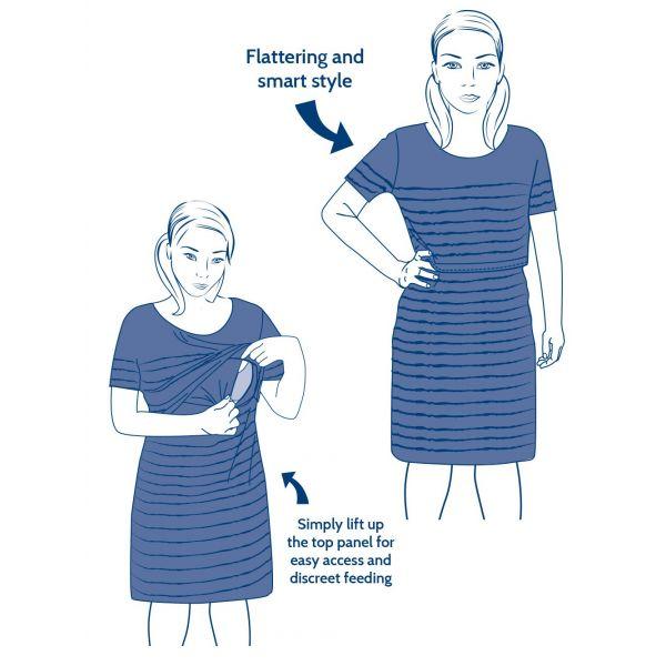 Vestido Premamá y Lactancia Babilonia