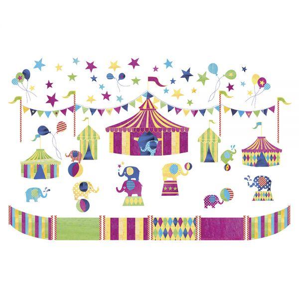Vinilo Infantil Los Elefantes del Circo