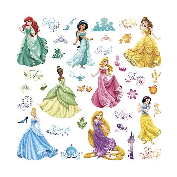 Vinilo Infantil Princesas Disney