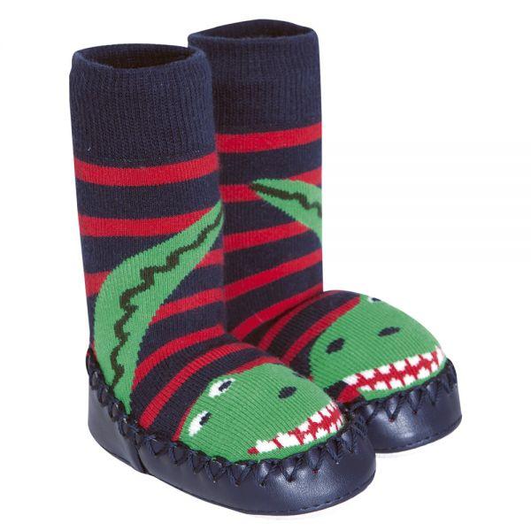 Zapatillas Calcetín Dinosaurio