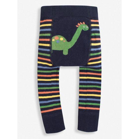 Leggings para Bebé a rayas Dinosaurio