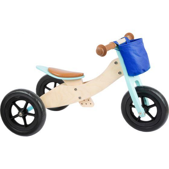 Triciclo bicicleta de madera para niños y niñas