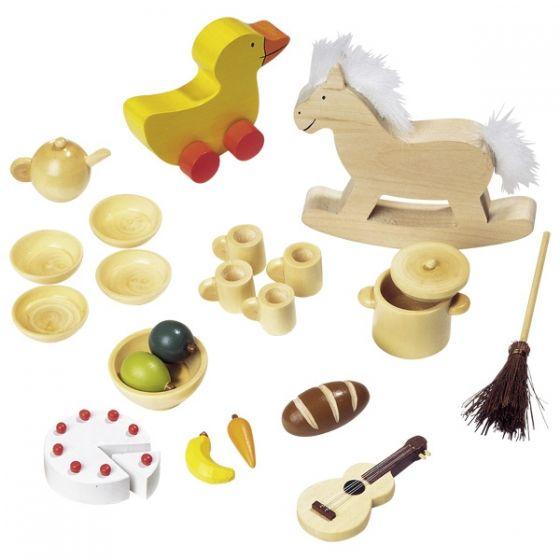 Accesorios variados para casa de muñecas, de Goki