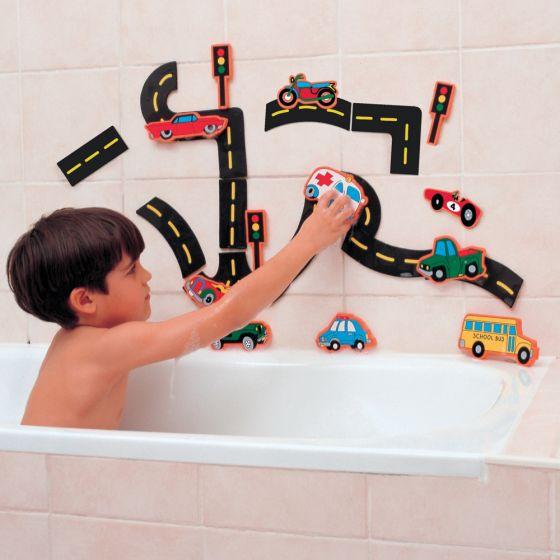 Carreteras de Espuma Divertidas para Baño