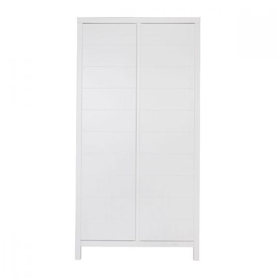 Armario de 2 puertas Stripes - Quax blanco
