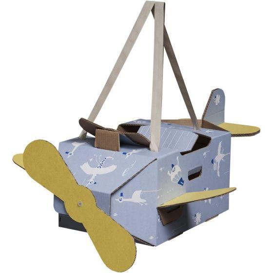 Avión de Cartón Mister Tody