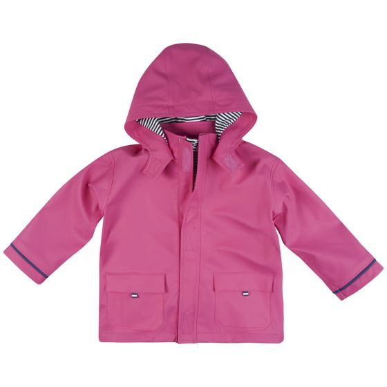 Chubasquero bebé y niña Impermeable en Color Rosa