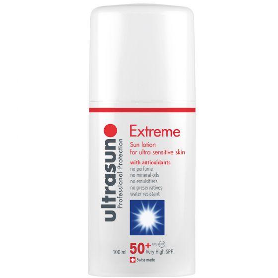Protector Solar Ultrasun Extreme Factor 50+ . Especial Bebé
