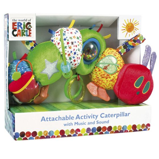 Juguete de Actividades para Bebés La Pequeña Oruga Glotona