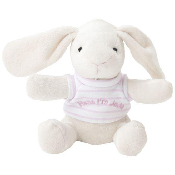 Peluche Conejito para Bebés Rosa de la marca JojoMamanBebe