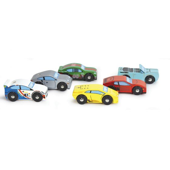 Set de Vehículos Montecarlo en Madera
