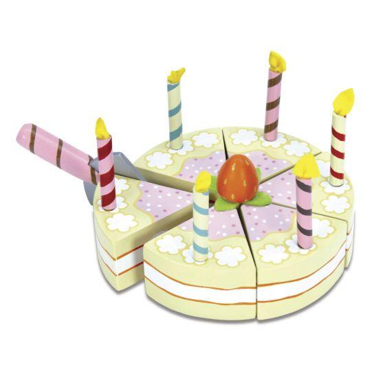 Tarta de Juguete de Madera