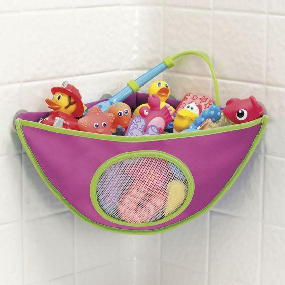 Organizador para Esquina de Baño de la marca Munchkin en color Fucsia