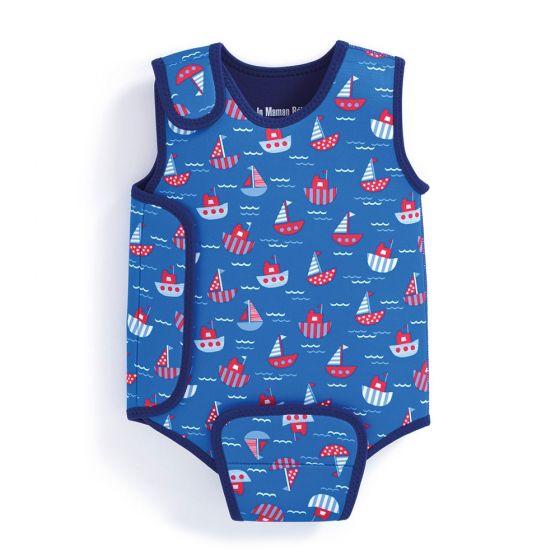 Bañador de Neopreno para Bebé Veleros
