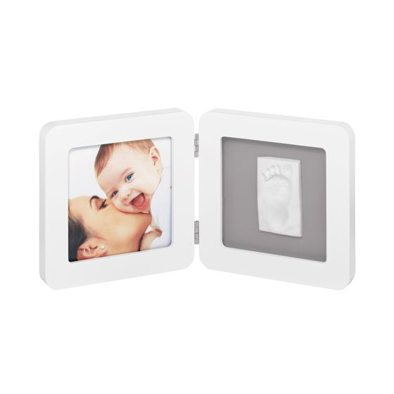 Baby Art. Marco Doble para foto Huellas Bebé
