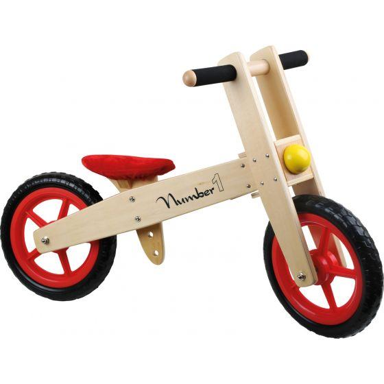 bici de aprendizaje roja