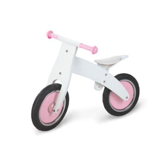 Bicicleta Madera sin Pedales Rosa - Pinolino