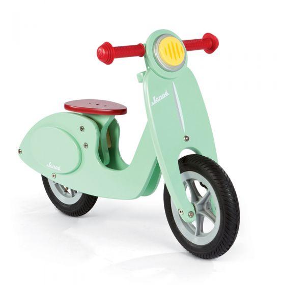 Bicicleta sin pedales tipo Scooter color Menta - Janod