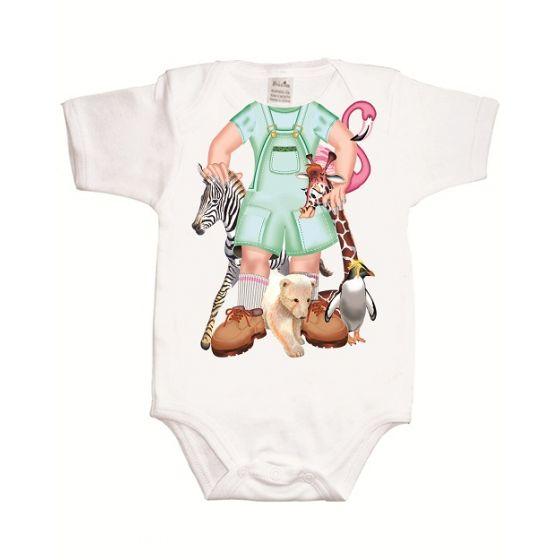 Body Bebé Divertido Jane de la Jungla