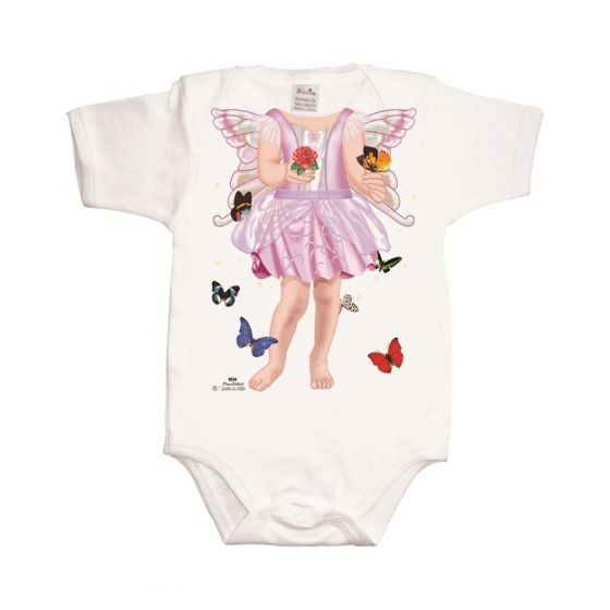 Body para Bebé Hada Mariposa