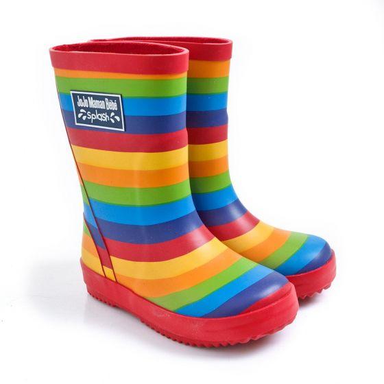 Botas de Agua para niños en colores Arco Iris