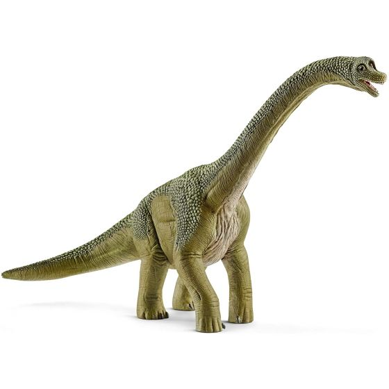 Figura dinosaurio Braquiosaurio, Color marrón, 18,5 cm - Schleich