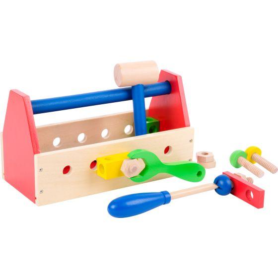 Caja de herramientas multicolor