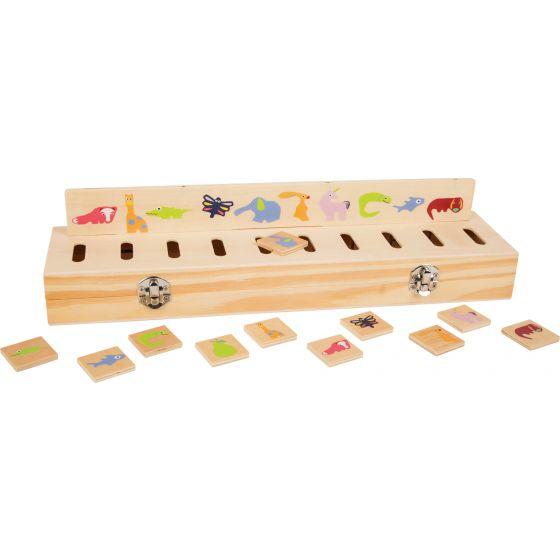 Caja de Figuras - Identificar formas y Colores