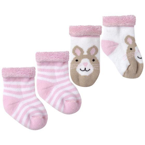 Calcetines para Bebé en color Rosa