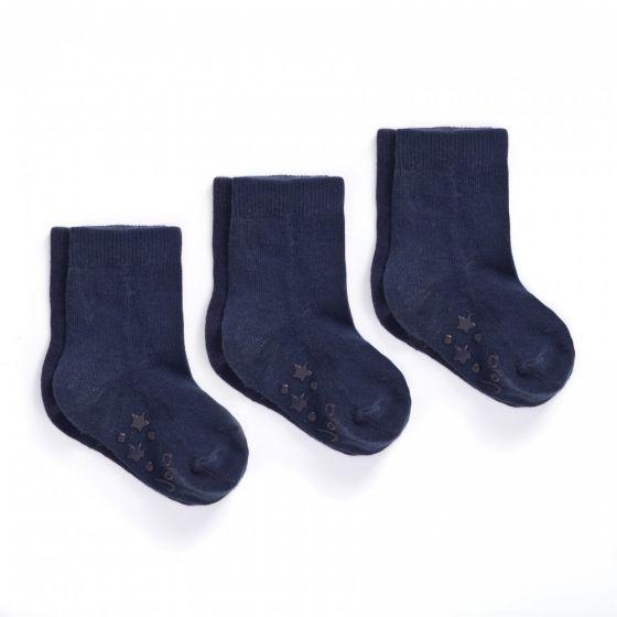 Calcetines Antideslizantes en Color Azul Marino