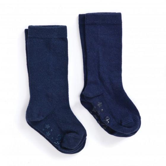 Calcetines Antideslizantes azules Largos para Niños