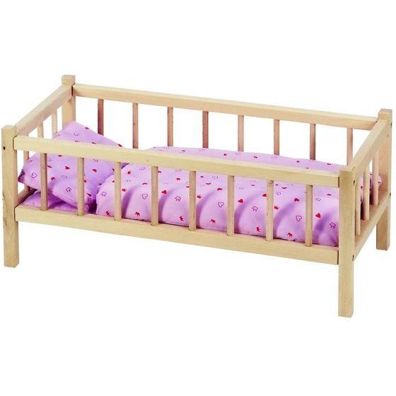 Cama de madera para Muñecas - Goki
