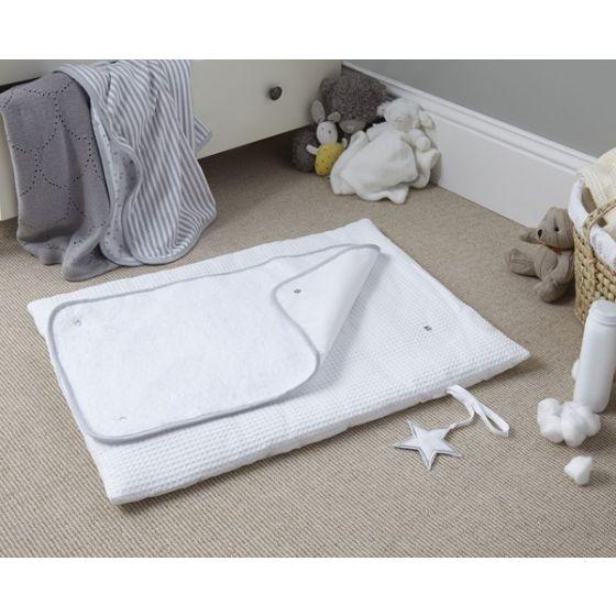Cambiador de Viaje Enrollable de toalla Multiusos Silver Line – Clair de Lune blanca