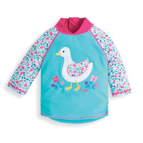Camiseta Protección Solar Bebé y Niña Patito