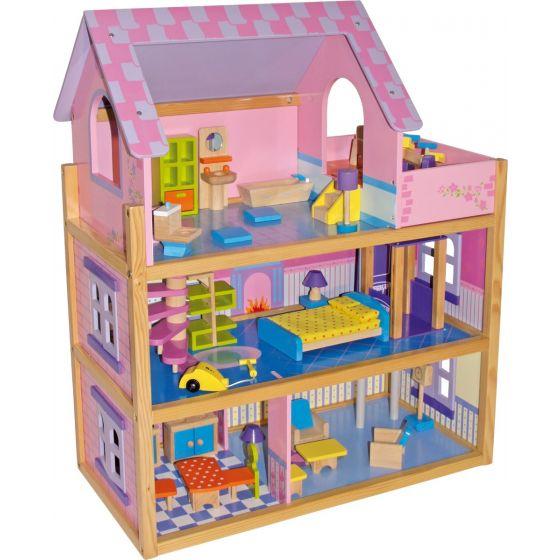 Casa de Muñecas Rosa - Legler