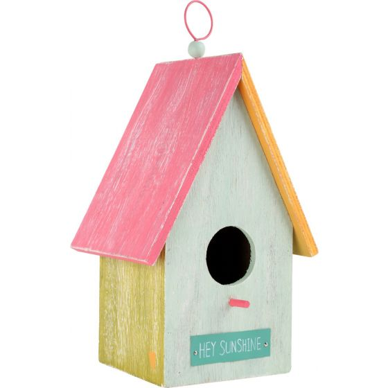 Casa para pájaros Hey Sunshine