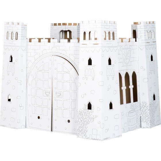 Castillo de juego de cartón