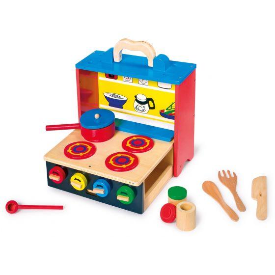 cocina de juguete portatil