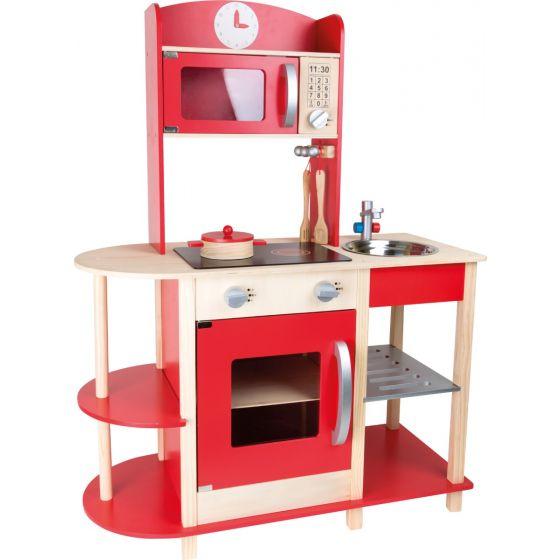 Cocina infantil de madera Gourmet