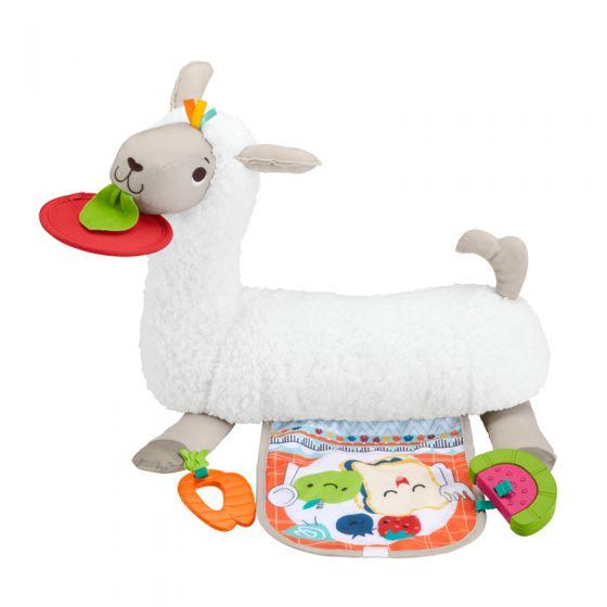 Llama Crece Conmigo, Cojín de juguete sensorial para Bebés , Fisher Price