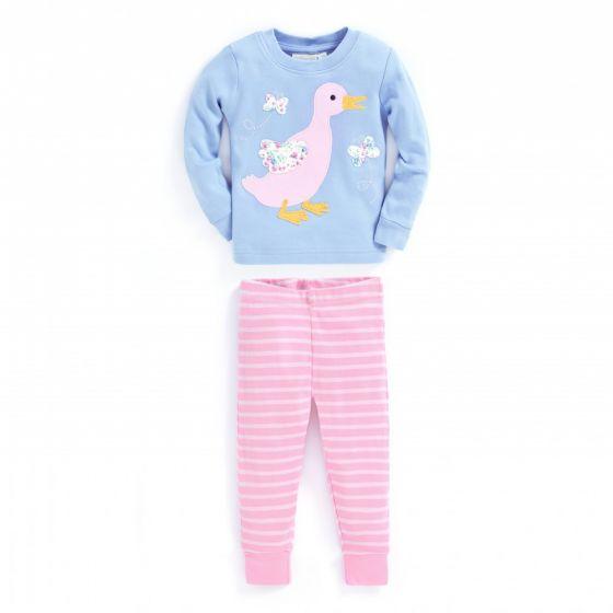 Pijama Largo de Niña Patito