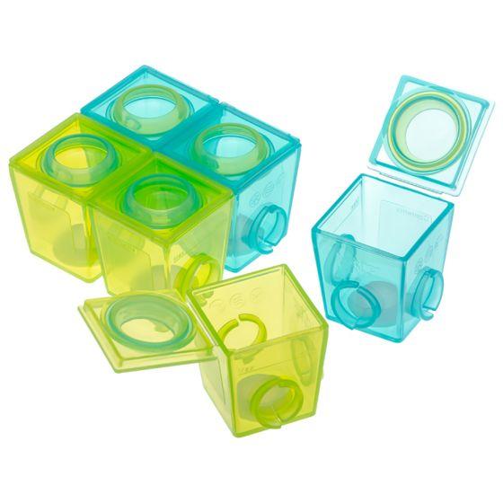 Envases para Guardar y Congelar papillas de la marca Brother Max  6 * 40 ML