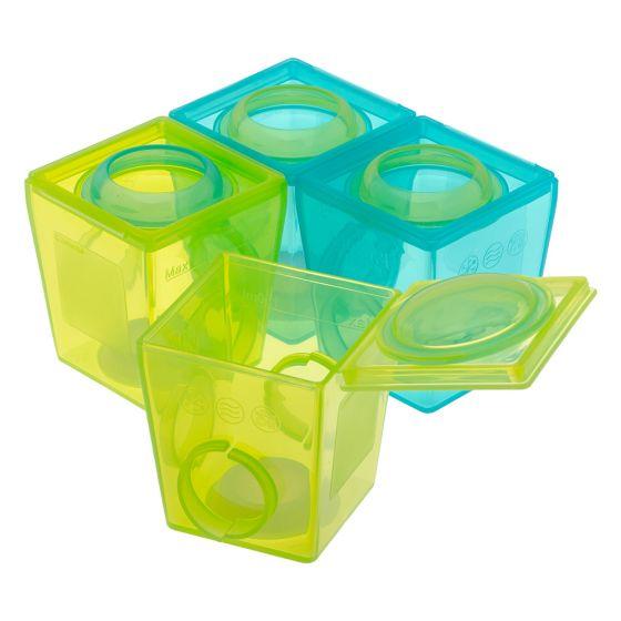 Envases para Guardar y Congelar papillas de la marca Brother Max