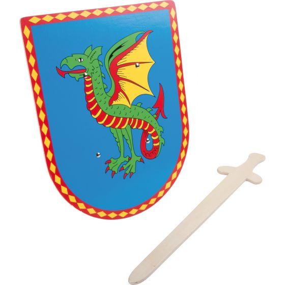 Escudo y Espada Dragón