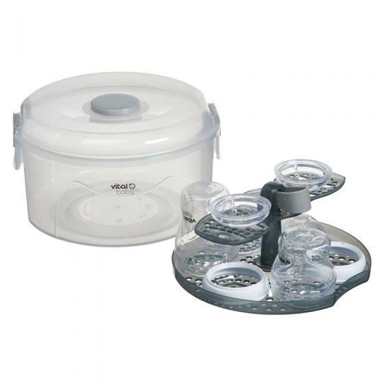 Esterilizador 2 en 1 , vapor y agua fria Nurture Vital Baby