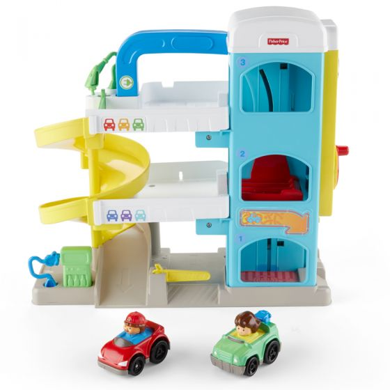 Garaje para coches Fisher Price Little People